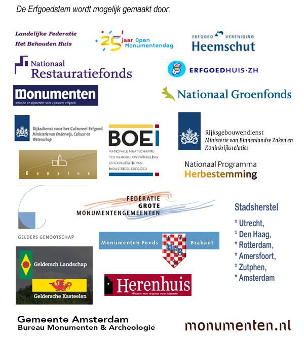 Logos sponsors 12 2011 Doelstelling