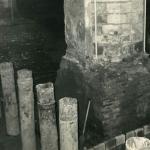 Buispalen van oudere restauratie Sint Jan Gouda