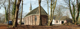 Kerk Wilhelminaoord, Drenthe Foto: RTV Drenthe