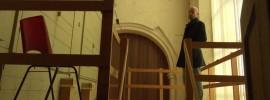 Beelden van restauratie Deventer Bergkerk