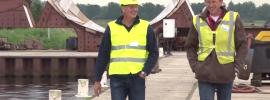Omvangrijk middeleeuws koggeschip bij Kampen wordt 10 februari gelicht (video)