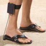 Leuk voor de vakantie: metaaldetector in je slipper