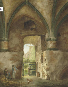 Utrecht vredenburg aquarel