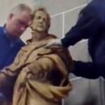 Heiligenbeelden gerestaureerd terug in Tilburgse kerk