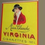 Plaquette voor gerestaureerde Miss Blanche Bergen op Zoom