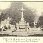 Restauratie fontein (1893) Van Nahuysplein Zwolle voltooid