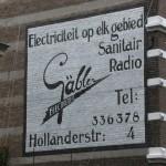 Den Haag: Weer een muurreclame gerestaureerd