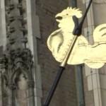 Plaatsen gerestaureerde haan Lebuinustoren mislukt voor derde keer