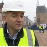 Monument Bagijnetoren Delft 15 meter verplaatst