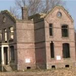 Einde van het spookhuis Sas van Gent