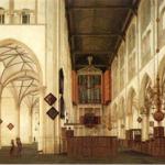 Restauratie gewelfschildering Alkmaarse Laurenskerk na 8 jaar voltooid