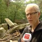 VIDEO Vernieling hunebed Emmen 'dieptepunt in hunebedvandalisme'
