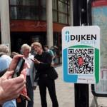 Nieuwe historische 'QR-route' over IJdijken