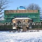 (VIDEO) Restauratie Wintertuin Baarn in volle gang