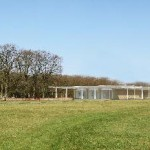 Museumpaviljoen komt in zocherpark landgoed Voorlinden