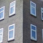 Kunststof kozijn verpest architectuur van vooroorlogse huizen
