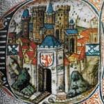 Stukken stadsmuur Geulpoort Valkenburg herbouwd