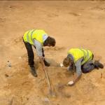 Belangrijke vondsten bij hunebed Valthe