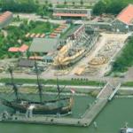 Renovatie masten Batavia begonnen