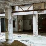 Impressie (vervallen) gebouw Gorky Park Garage