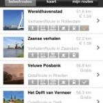Wandelen langs waterlinie met app 'beleefroute'