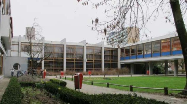 Huidig Rietveld College - Foto: tuindorpoost.nl