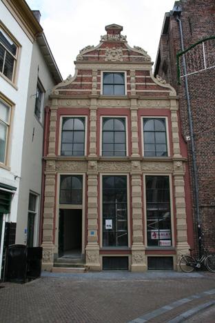 Hof van ittersum in zwolle gerestaureerd de erfgoedstem - Oude huis gevel ...