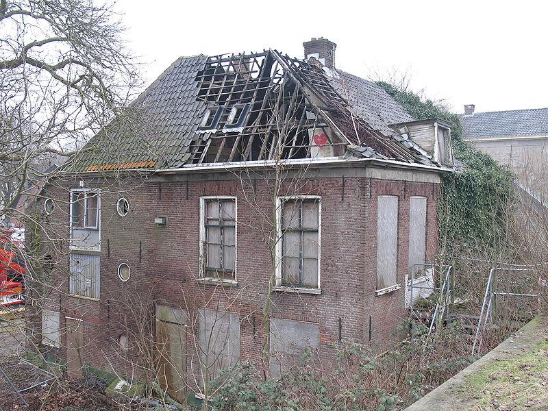 De woning in 2010. Foto: Basvb via wikimedia