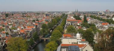 Amsterdam via  Sdalu wikimedia