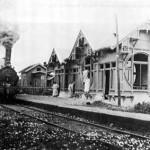 Laatste houten Stationsgebouw van de sloophamer gered