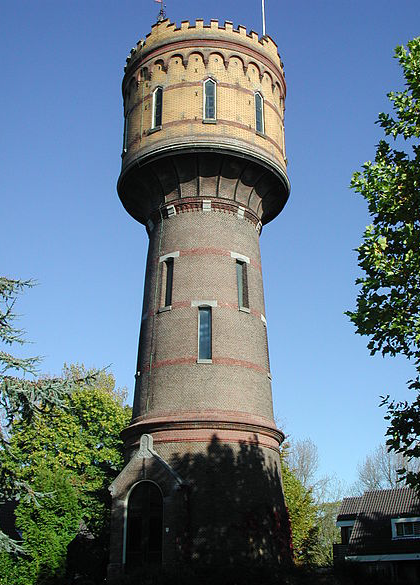 Watertoren Woerden P.H. Louw  wikimedia