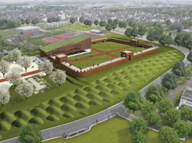 Herbouw Castellum Hoge Woerd  - via persbericht Utrecht