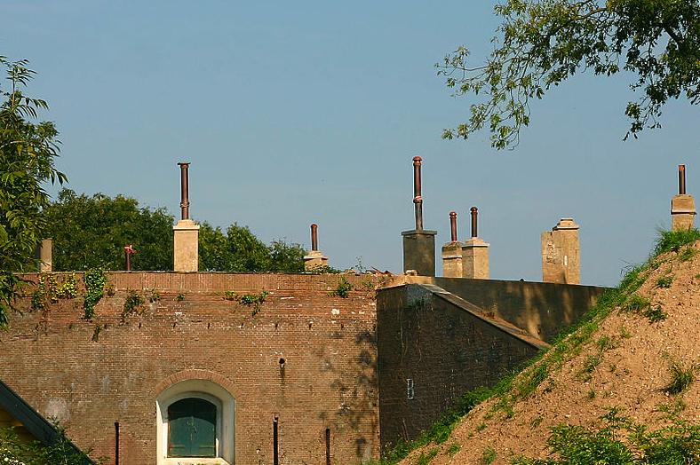 Fort Asperen. Foto: Peter van Meurs via wikimedia