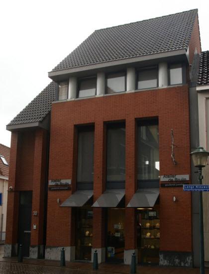 Hulst, lange Nieuwstraat, modern Rijksmonument?