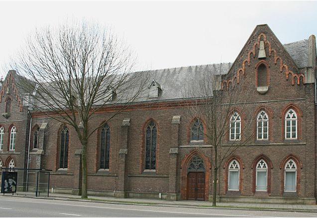 Klooster met Andreaskapel. Foto via Kerken in Limburg