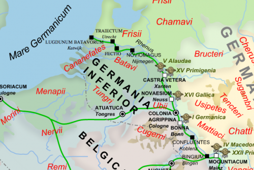 Romeinse Limes - Hans Erren/Andre Nacui via wikimedia commons