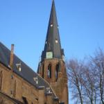 Kastanjeboom belemmert restauratie Jozefkerk Enschede niet langer