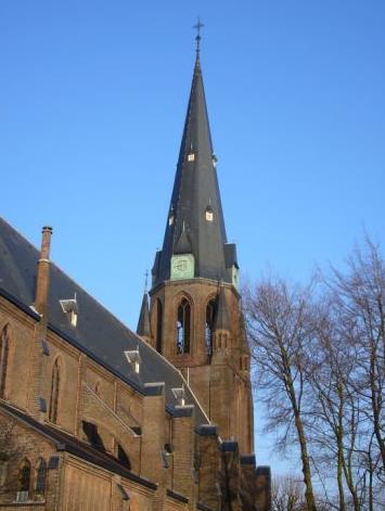 Sint-Josefkerk Enschede - pepijntje wikimedia publiek domein