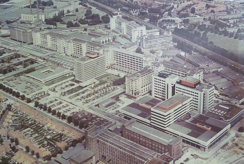 Strijp S 1979 - Foto: Hans Aarts via wikimedia