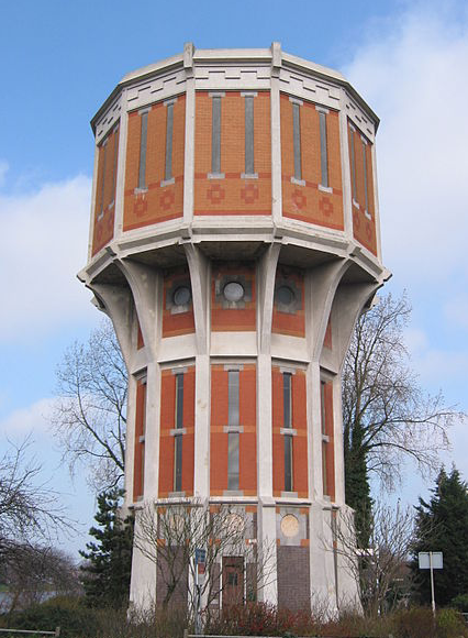 Watertoren Leiden - Rudolphous via wikimedia commons