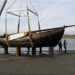 Vissersschip uit 1840 weer te water?