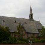 Monumentale kerk van Cuypers vannacht afgebrand op Ameland