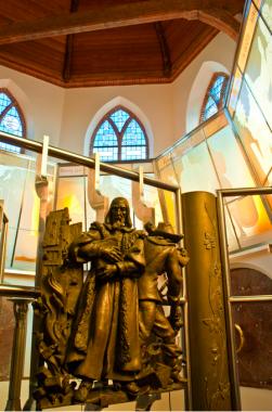 Interieur Comeniuskapel te Naarden. Foto: Michele Ahin via wikimedida