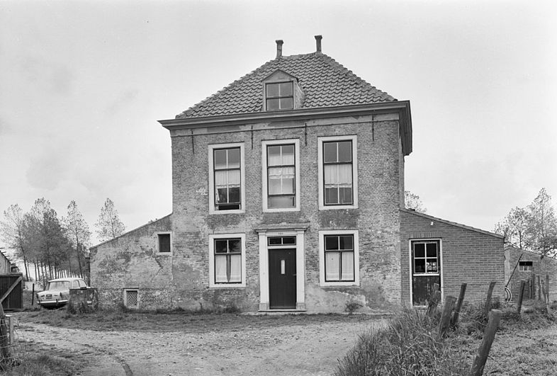 Kruisschans Sluis 1967. Foto: RCE