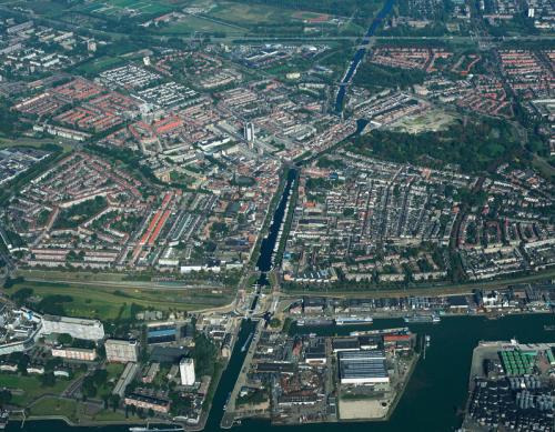 Luchtfoto Vlaardingen bron: RCE