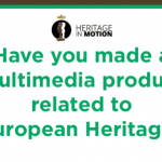 1 april, deadline Heritage in Motion