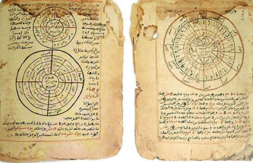 Voorbeeld van het soort geschriften uit Timboektoe Wikimedia Commons