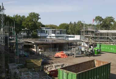 Renovatie Zonnestraal. Foto: Kris Roderburg