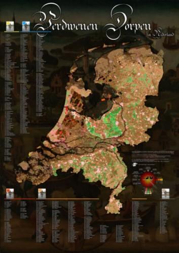 Kaart van Vedwenen Dorpen door CartoMagie