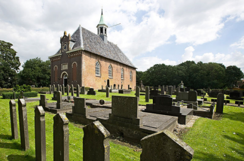 Kerk Nieuw Scheemda. foto: Stichting Oude Groninger Kerken